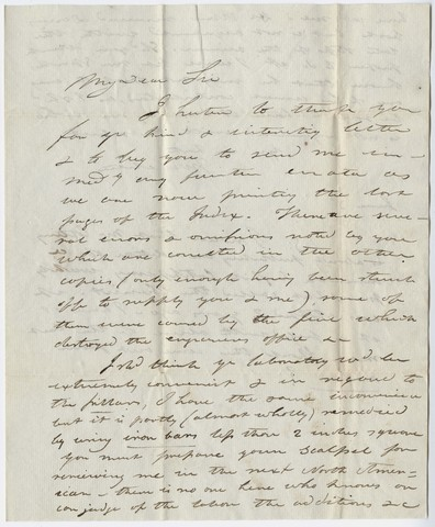 John White Webster letter to Edward Hitchcock, June 3