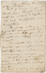 Edward Hitchcock sermon notes, 1822 March 1