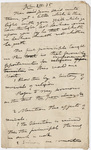 Edward Hitchcock sermon notes, 1836 April
