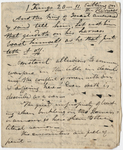 Edward Hitchcock sermon notes, 1835 June