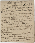 Edward Hitchcock sermon notes, 1832 October 11