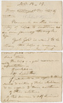 Edward Hitchcock sermon notes, 1825 March