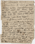 Edward Hitchcock sermon notes, 1834 March