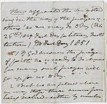 Edward Hitchcock sermon notes, 1847 February 26