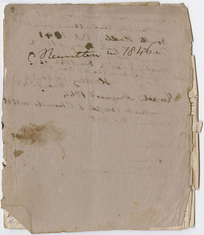 Edward Hitchcock unnumbered sermon, 1839 May