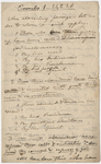 Edward Hitchcock sermon notes, 1835 March