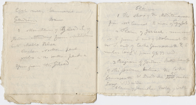 Questions for a Bible class