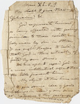 Edward Hitchcock sermon notes, 1837 December
