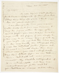 Benjamin Silliman letter to Edward Hitchcock, 1835 November 13