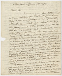 Edward Hitchcock letter to Benjamin Silliman, 1838 April 9