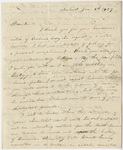 Edward Hitchcock letter to Benjamin Silliman, 1829 January 8