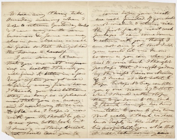 Edward Hitchcock letter to Mary Hitchcock, 1853 October 16