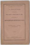 The wise man of the Scriptures, or, Science and religion: a discourse delivered in the village church in Amherst, March 2d, 1864, at the funeral of Rev. Prof. Edward Hitchcock