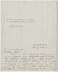 Charles Whittlesey letter to Edward Hitchcock, 1846 November 27