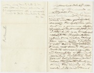 Edward Hitchcock letter to Edward Hitchcock, Jr., 1855 October 4