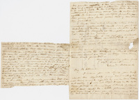 Edward Hitchcock letter to Benjamin Silliman, 1822? November 16