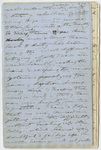 "Edward Hitchcock diary, ""Private Notes,"" 1854 June 18 to 1864 February 5"