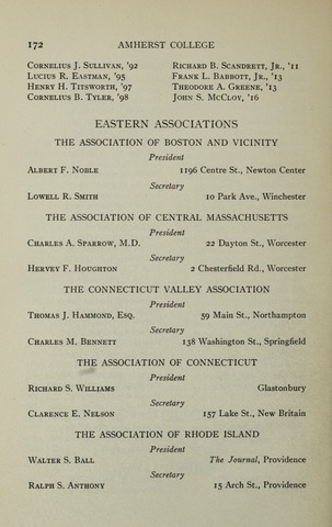 Amherst College Catalog 1924/1925