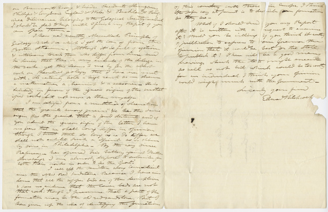 Edward Hitchcock letter to Benjamin Silliman, 1832 July 16