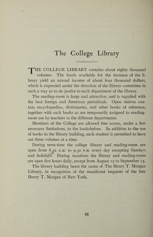 Amherst College Catalog 1905/1906