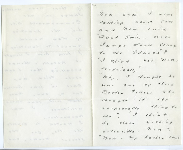 Emily Dickinson letter to Otis Phillips Lord