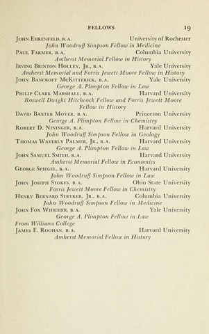 Amherst College Catalog 1941/1942