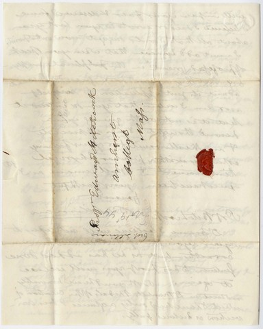 Benjamin Silliman letter to Edward Hitchcock, 1844 September 19