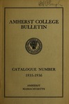 Amherst College Catalog 1935/1936