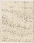 Benjamin Silliman letter to Edward Hitchcock, 1835 December 4