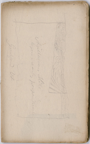 Edward Hitchcock geological survey notebook, 1832 May 11 to 1833 January