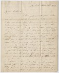 Orra White Hitchcock letter to Edward Hitchcock, 1837 September 29