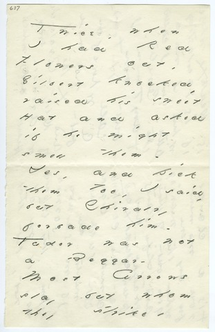 Emily Dickinson letter to Mrs. W. A. (Susan) Dickinson