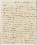 Benjamin Silliman letter to Edward Hitchcock, 1832 February 24
