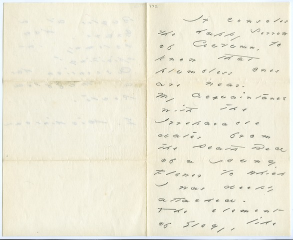 Emily Dickinson letter to Mr. & Mrs. E. J. Loomis