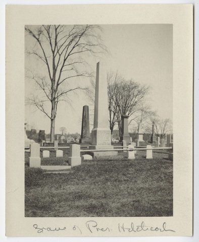 Grave of Pres. Hitchcock