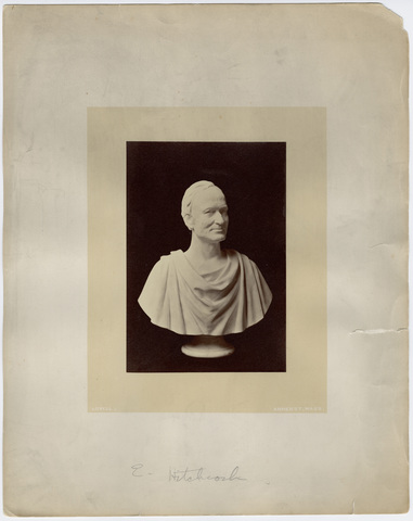 Marble bust of Edward Hitchcock