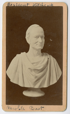 President Hitchcock marble bust
