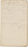 Edward Hitchcock geological survey notebook, 1833 September 26 to 1833 November 19