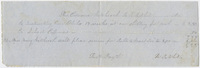 Edward Hitchcock receipt of payment to R. R.? White, 1838