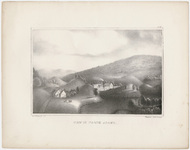 "Orra White Hitchcock plate, ""View in North Adams,"" 1841"