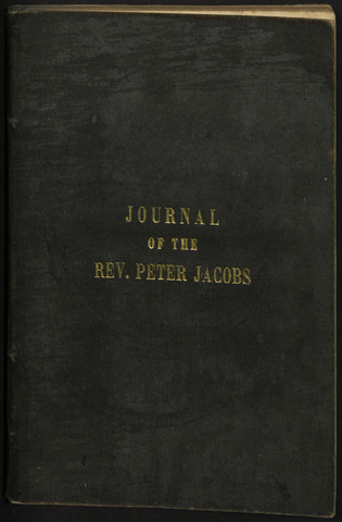 Journal of the Reverend Peter Jacobs, Indian Wesleyan missionary, from Rice Lake to the Hudson's Bay territory, and returning, commencing May, 1852