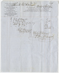 Edward Hitchcock receipt of payment to Wiley & Putnam, 1847 October 4