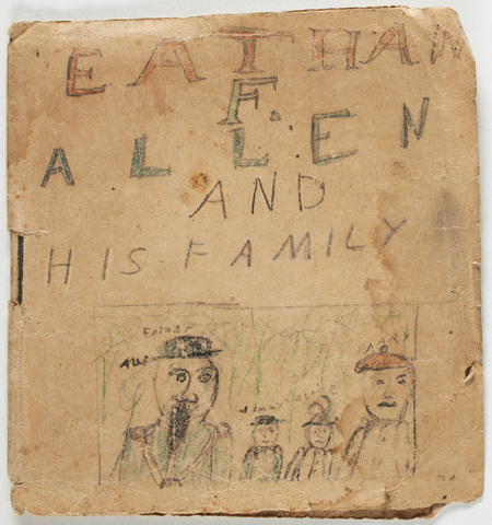 Eathan [sic] F. Allen and his family