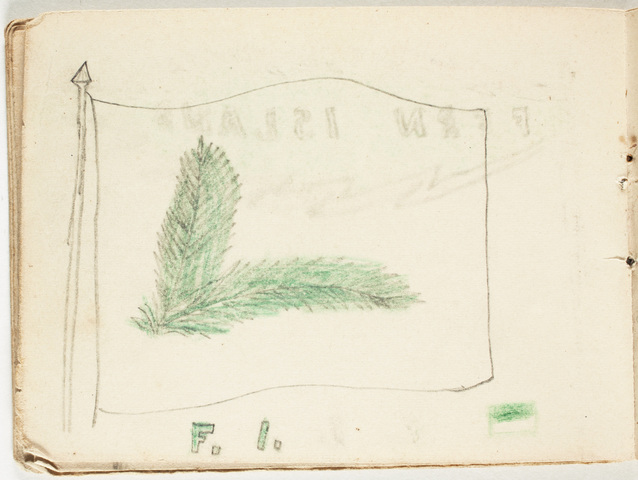 Nelson brothers booklet of flags
