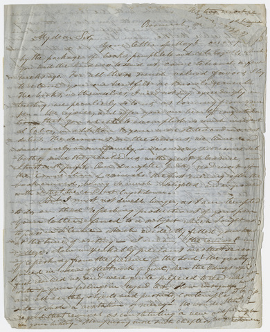Justin Perkins letter to Edward Hitchcock, 1850 December 5