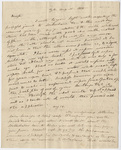 Benjamin Silliman letter to Edward Hitchcock, 1828 August 11