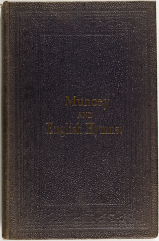 collection of hymns, in Muncey and English
