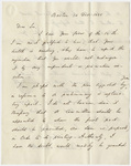 Governor Edward Everett letter to Edward Hitchcock, 1838 December 14