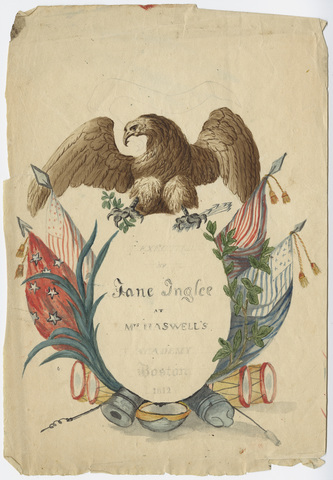 Eagle and other patriotic symbols