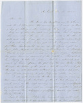 Orra White Hitchcock letter to Edward Hitchcock, Jr., 1850 December 13